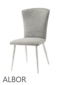 כסא אפור דגם HD6851 - אלבור רהיטים
