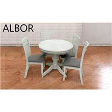 פינת אוכל HT02-white - אלבור רהיטים