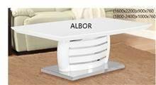 שולחן לבן C045-1RY - אלבור רהיטים