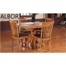 שולחן עגול דגם HT02+HC01 - אלבור רהיטים