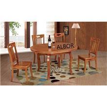 שולחן אליפסה דגם T655 - אלבור רהיטים