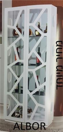 ויטרינה מעוצבת דגם O.L.A8010 - אלבור רהיטים