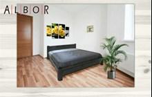 מיטה זוגית מעץ מלא דגם וונוס - אלבור רהיטים