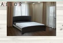 מיטה זוגית מעץ מלא דגם שירז - אלבור רהיטים