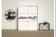 ארון הזזה מעוצב דגם  27_2 - אלבור רהיטים