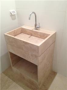כיור אמבטיה - אבני ניצן