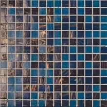 פסיפס בגווני כחול - אבני ניצן