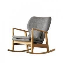 """כסא נדנדה מעץ """"ליון"""" - כסא נדנדה"""