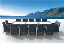 מערכת ישיבה למרפסת ולגן מדגם טאליסקה - כסא נדנדה