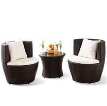 פינת קפה לגן דגם סלוניקי  - כסא נדנדה