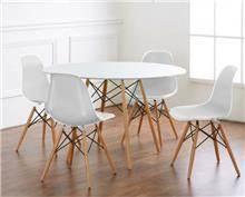 שולחן פינת אוכל שי + 4 כיסאות