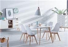 פינת אוכל אסנסיו + 4 כסאות ראול - כסא נדנדה