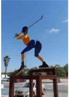 פסל חוץ שחקן הוקי