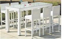 שולחן וכסאות בר מראטן - יבוא 4 יו