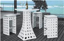 כסאות ושולחן בר - יבוא 4 יו
