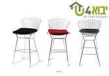 כסא בר מברזל - יבוא 4 יו