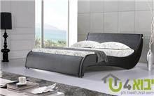 מיטת גל מעוצבת