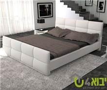 מיטה בעיצוב מלבנים