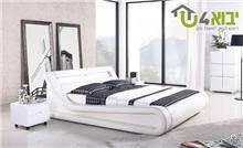 מיטה זוגית עם תאורת לד