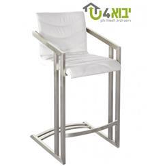כסא בר יחודי לבן - יבוא 4 יו