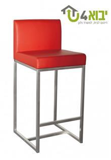 כיסא בר אדום מנירוסטה