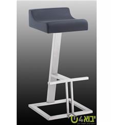 כיסא בר אפור יחודי