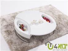 שולחן לבן לסלון - יבוא 4 יו
