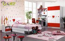 חדר לבבות אדום ולבן - יבוא 4 יו