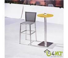 שולחן בר צהוב - יבוא 4 יו