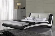 מיטה זוגית מעור רינת - יבוא 4 יו