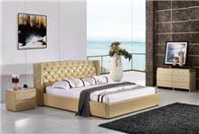 מיטה זוגית עם קפיטונאז' רויאל - יבוא 4 יו