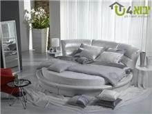 מיטה זוגית עגולה אדווה