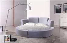מיטה עגולה מפוארת ג'ניפר - יבוא 4 יו