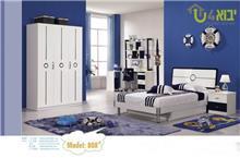 חדר ילדים קומפלט לבן כחול  - יבוא 4 יו