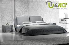 מיטה זוגית מעוצבת מרופדת דגם ויטה