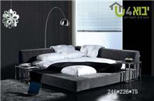מיטה זוגית מעוצבת דגם נוי - יבוא 4 יו