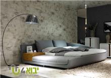מיטה זוגית מעוצבת דגם נטוראל ספא