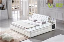 מיטה זוגית מעוצבת דגם אליסה