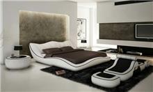 מיטה זוגית מעוצבת דגם קורל