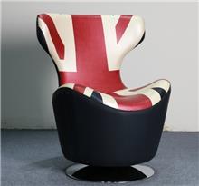 כורסא מעוצבת עם דגל אנגליה - יבוא 4 יו