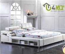 מיטה זוגית מעוצבת דגם קומפורט נייט