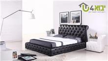 מיטה זוגית מעוצבת דגם ורוניקה - יבוא 4 יו