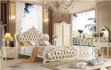 מיטה זוגית וינטאז' מעוצבת