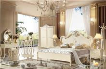 מיטה זוגית מעוצבת בסגנון וינטאז' 8816 - יבוא 4 יו