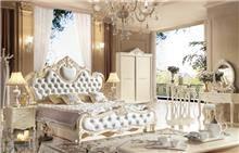 מיטה זוגית בסגנון וינטאז' דגם 8818