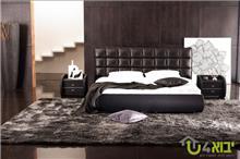 מיטה זוגית מעוצבת דגם אופל