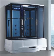 מקלחון עיסוי מלבני מפנק דגם 215F - יבוא 4 יו