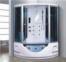 מקלחון עיסוי פינתי ענק ומפנק דגם 8846
