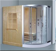 מקלחון עיסוי משולב סאונה ענק דגם 8868