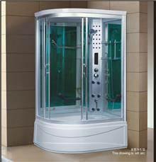 מקלחון עיסוי להב פינתי מפנק דגם 1285AF - יבוא 4 יו